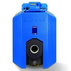 Напольный чугунный отопительный котел Logano G125 WS для работы на газе или дизельном топливе