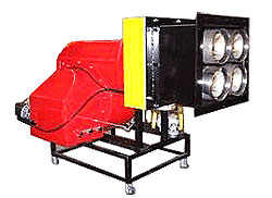 Cib Unigas DRAGO - горелка с коротким факелом